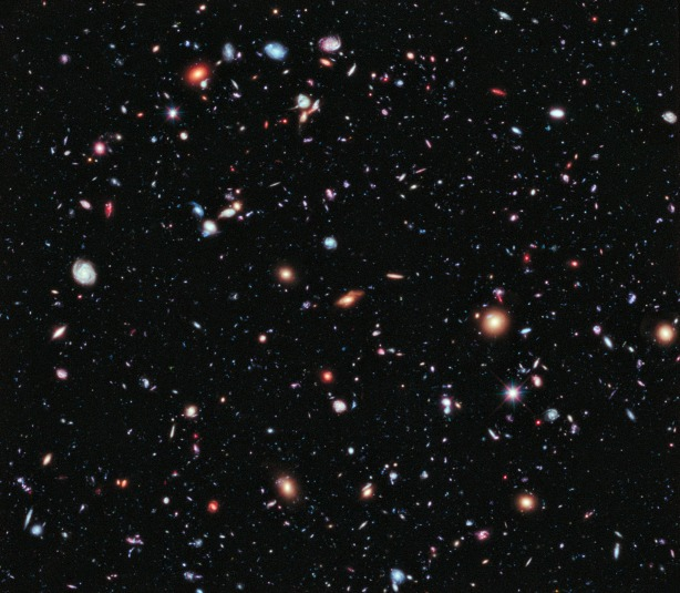 I am a sucker for science - Here is NASA's eXtreme Deep Field image containing 5,500 galaxies