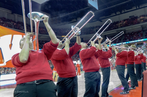 University of Wisconsin Band - Trumpet Section