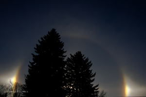 14 Days With Circles - Day 6 (A Sundog aka) 22 Degree Circle)