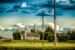 Rural North Dakota Church