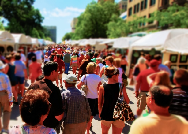 Art Fair on the Square - The 3D Effect