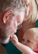 Feeding Grandpa