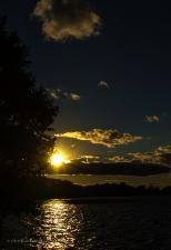 Sunset on Crystal Lake