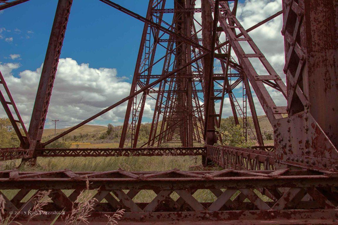 Details of Railroad Trestle Bridge Span 27