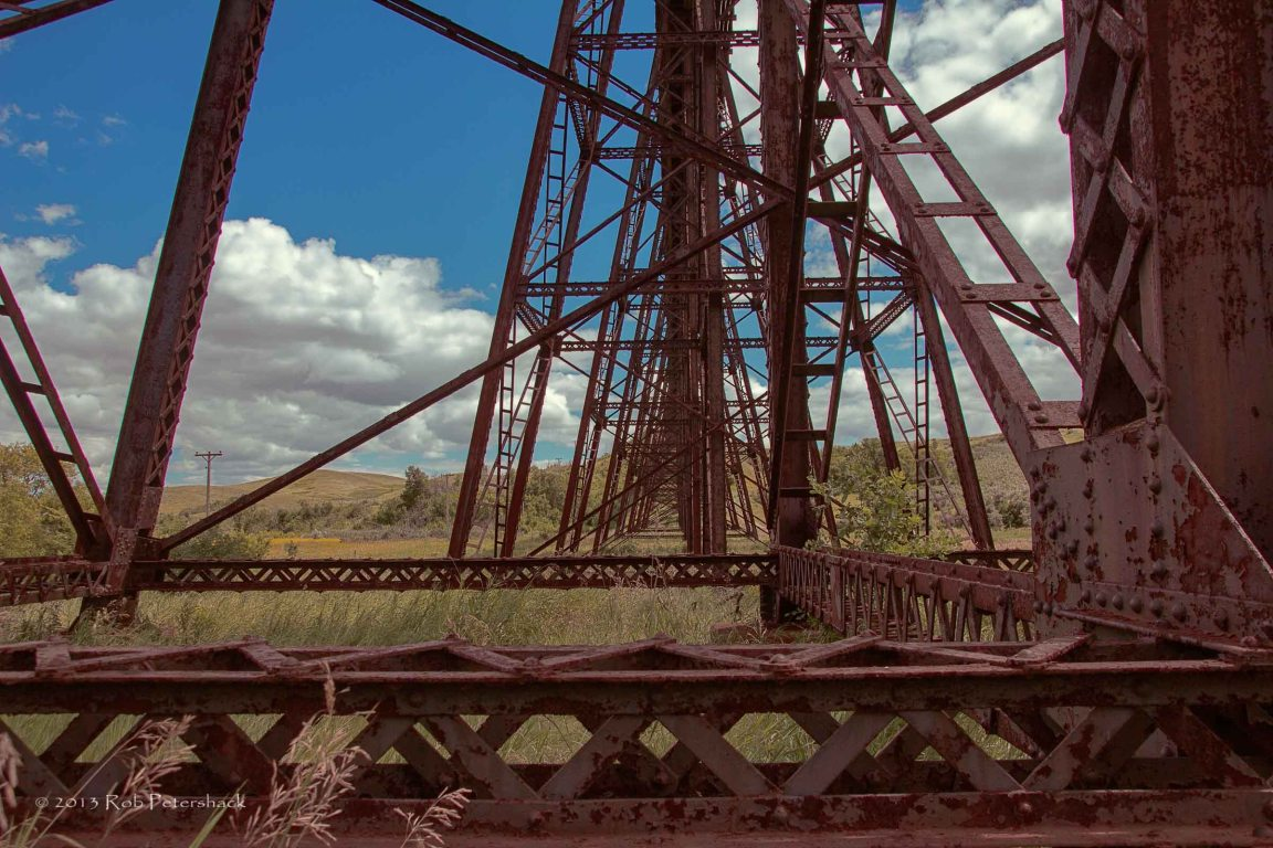 Details of Railroad Trestle Bridge Span 27