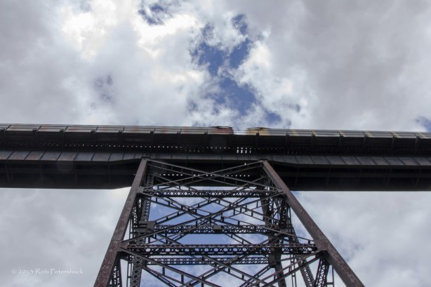 Train on Trestle Tower
