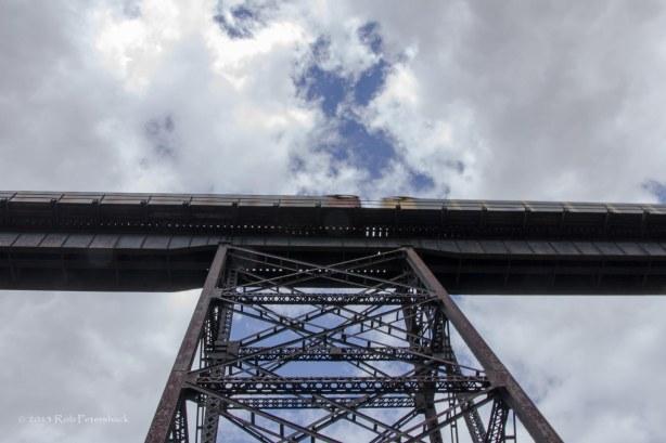 Train on Trestle Tower