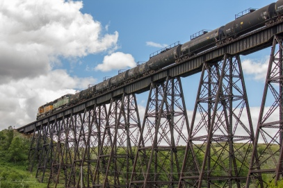 Train on Span 27