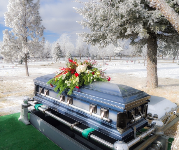 Ray Bibow Funeral