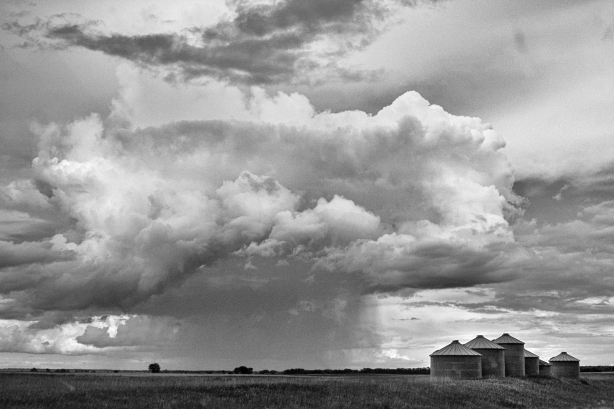 Thunderstorm on the Great Plains - September 13, 2014
